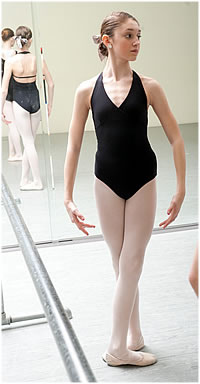 NCDI student Gabby (photo by Ken Wolf)