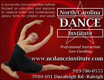 NCDI student Taylor Delbridge featured in our Strut '08 program ad